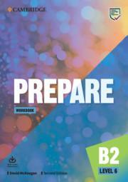 Afbeelding van Prepare Second edition 6 Workbook + Audio Download