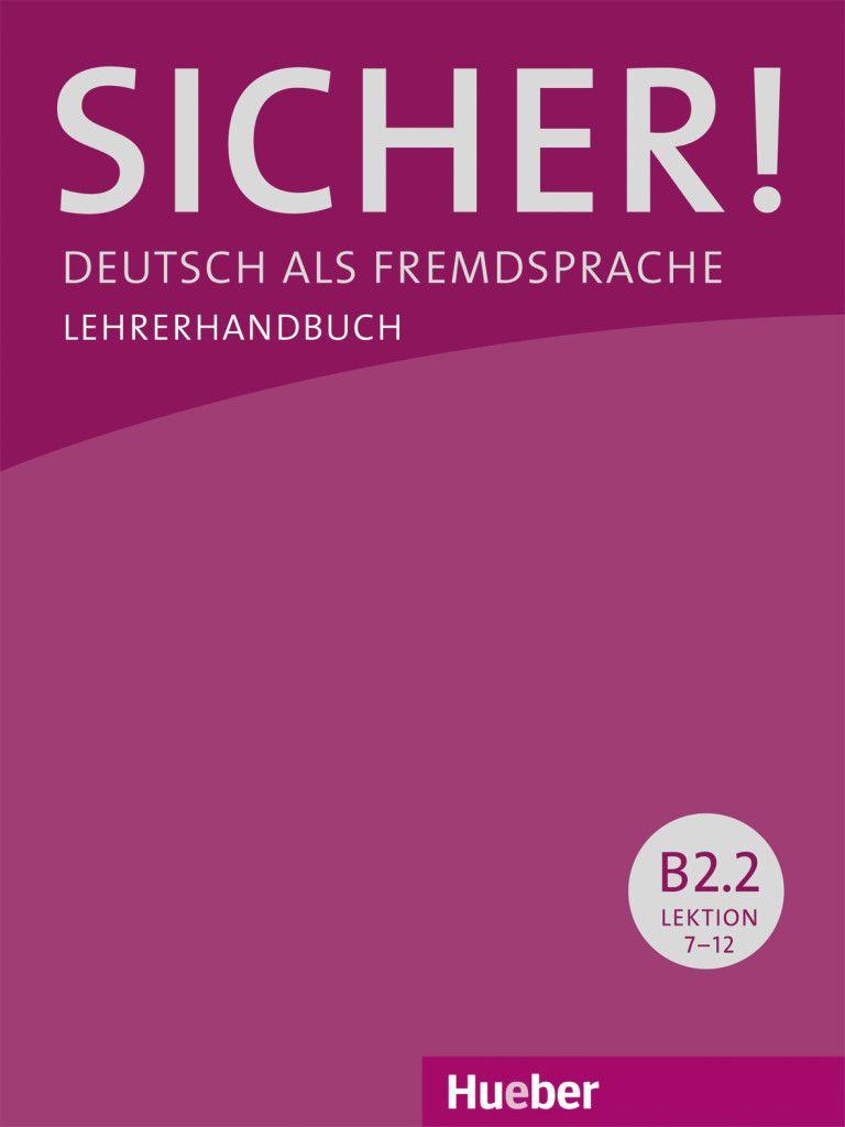 Afbeelding van Sicher! B2/2 Lehrerhandbuch