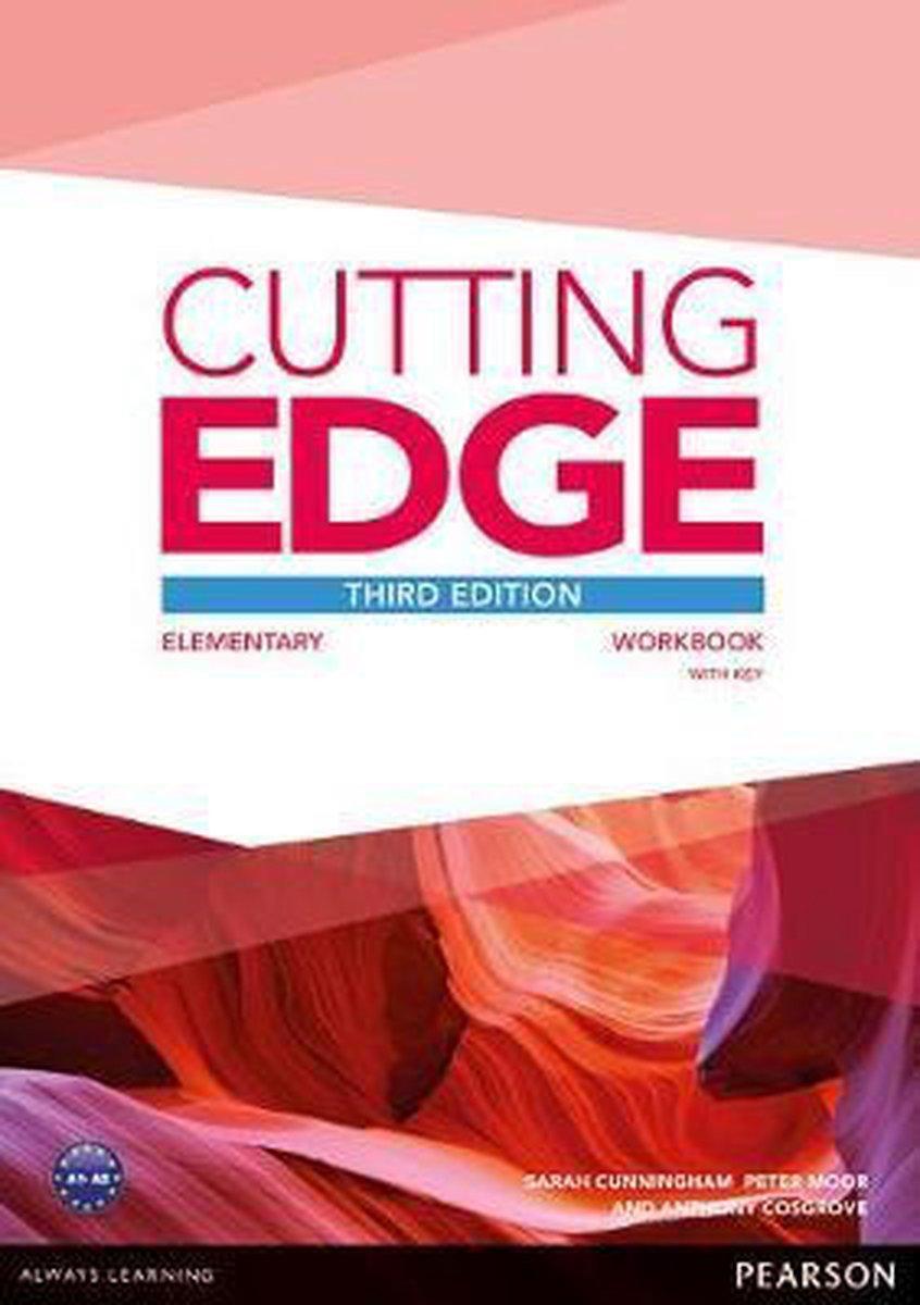 Afbeelding van Cutting Edge third edition - Elementary workbook with key