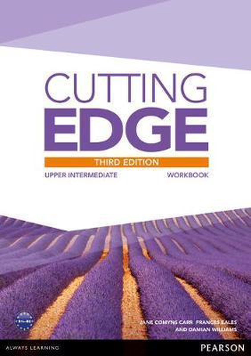 Afbeelding van Cutting Edge third edition - Upper-intermediate workbook without key + online audio