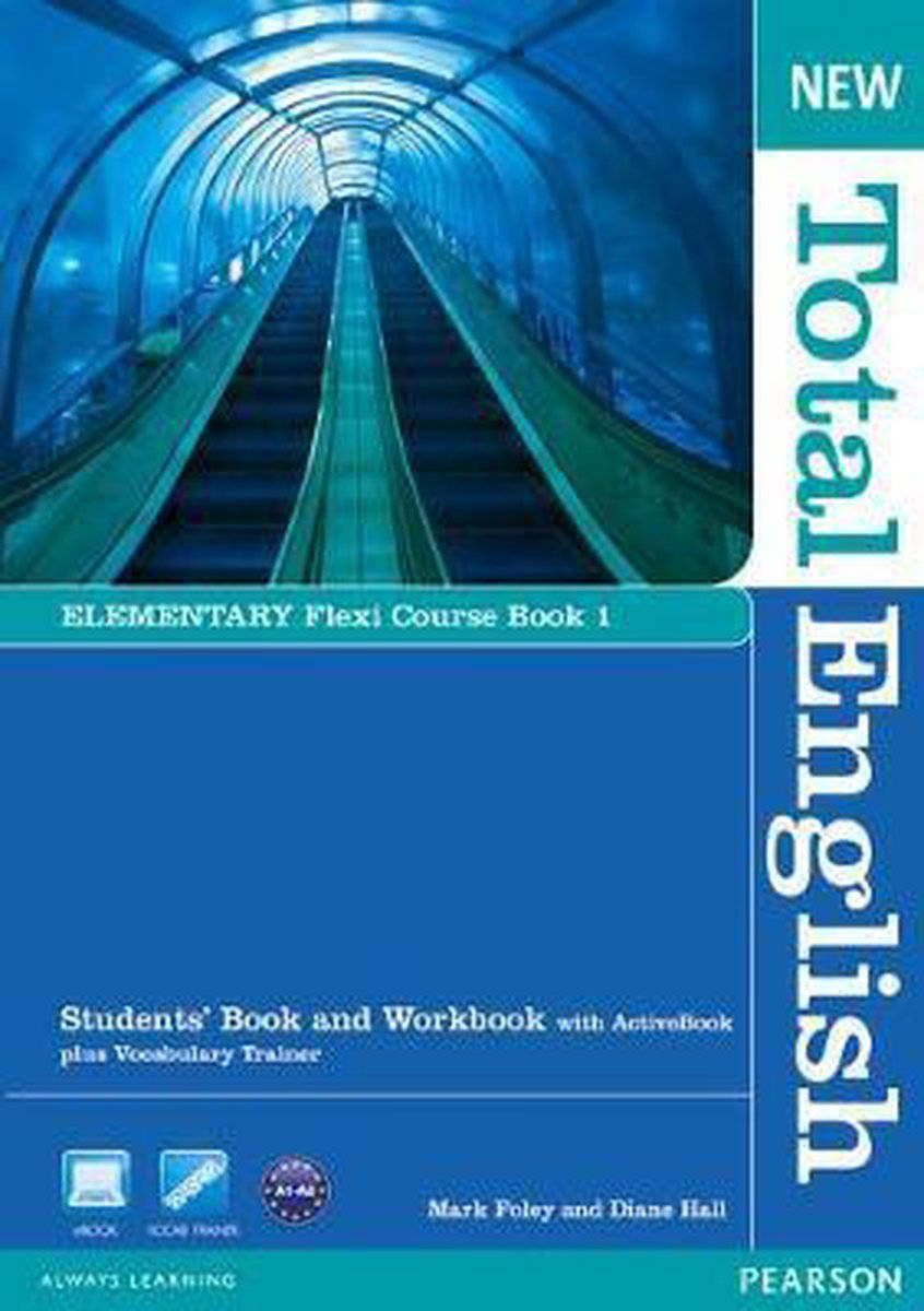 Afbeelding van New Total English - Elementary 1 Flexi coursobook pack