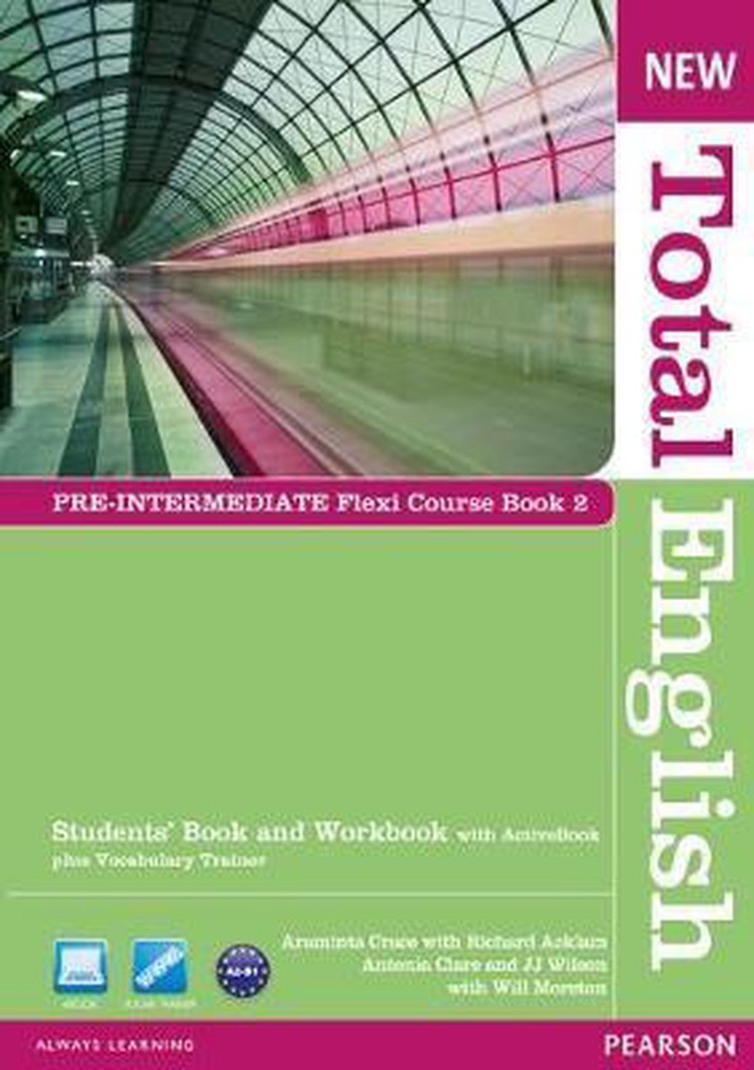 Afbeelding van New Total English - Pre-intermediate 1 Flexi coursebook pack