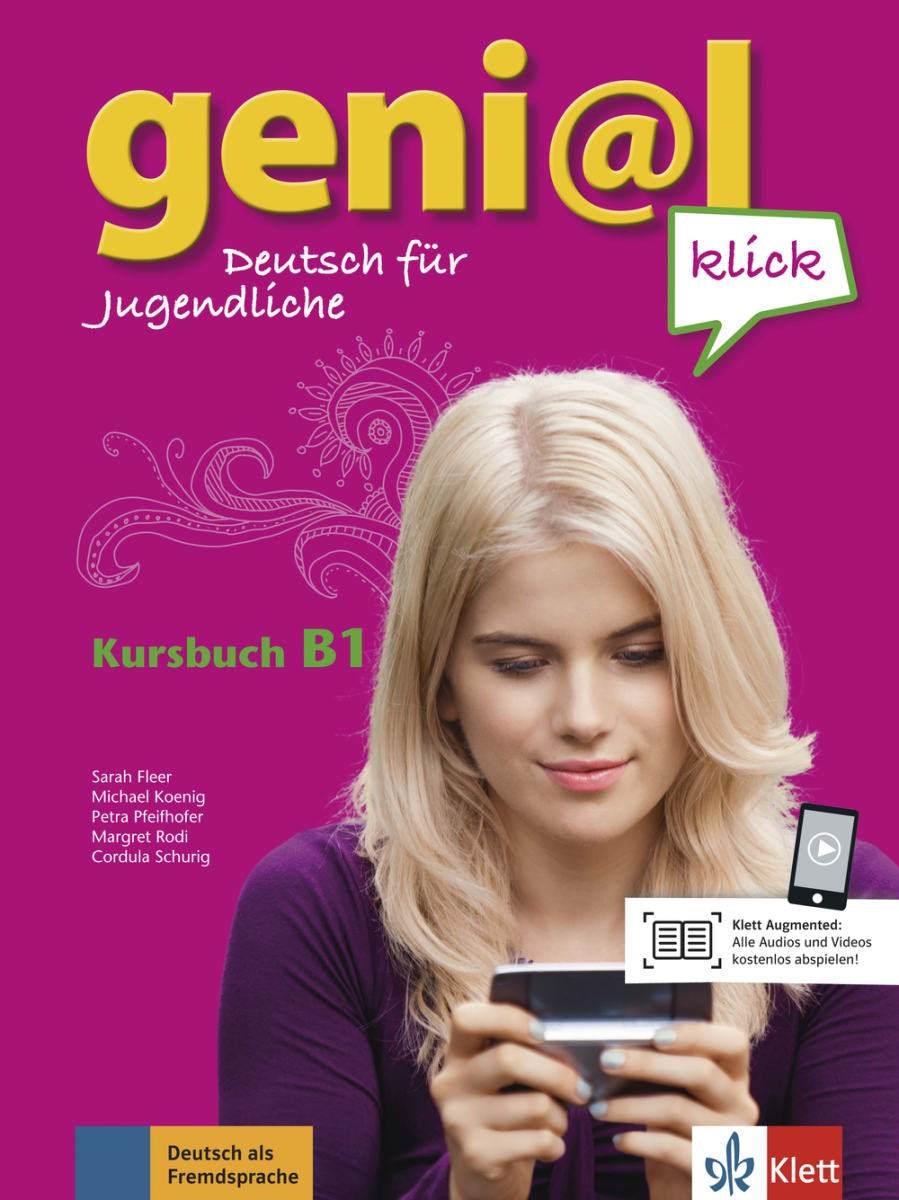 Afbeelding van Geni@l Klick B1 Kursbuch + 2 Audio-CDs