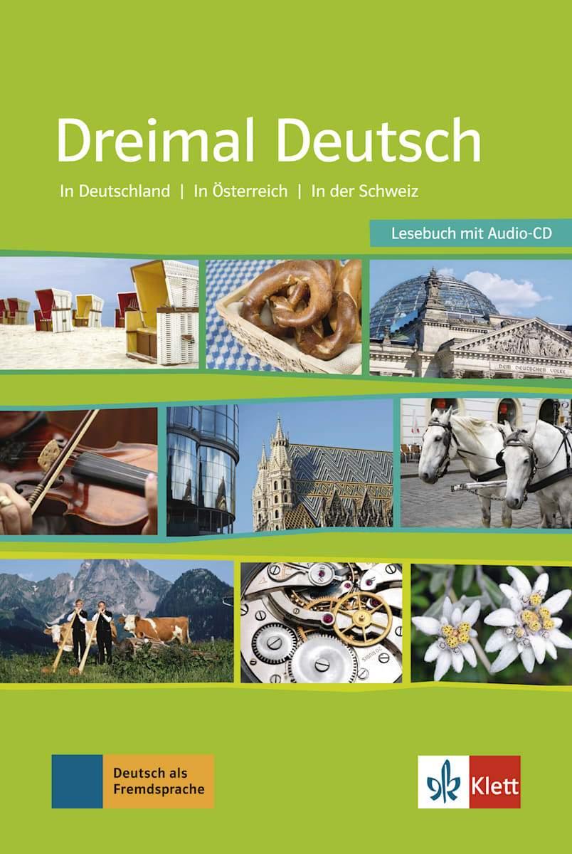 Afbeelding van Dreimal Deutsch lesebuch + audio-cd (1x)
