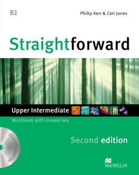 Afbeelding van Straightforward second edition - Upper-intermediate workbook with key + audio-cd