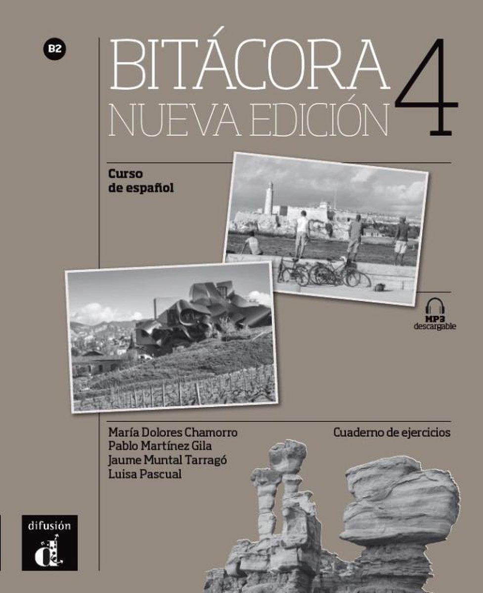 Afbeelding van Bitácora Nueva edición B2 4 Cuaderno de ejercicios + MP3