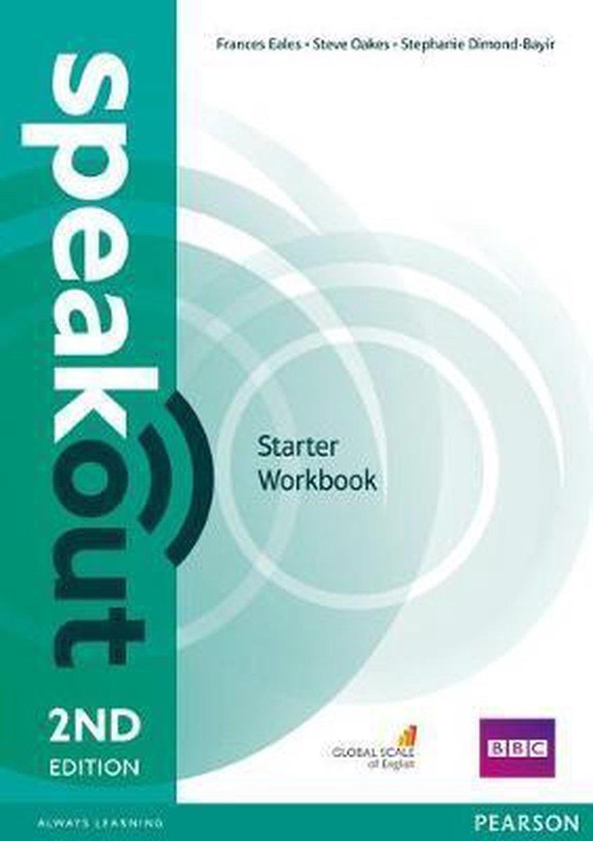 Afbeelding van Speakout - Starter second edition Workbook without key