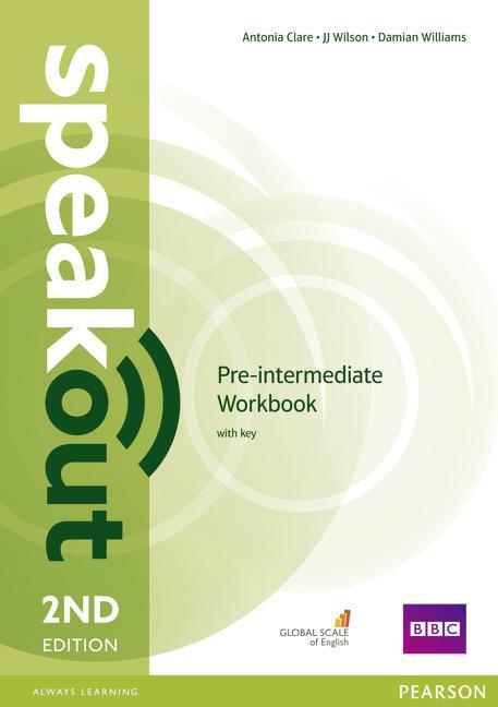 Afbeelding van Speakout second edition - Pre intermediate workbook with key