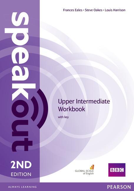 Afbeelding van Speakout - Upper-intermediate second edition workbook with key
