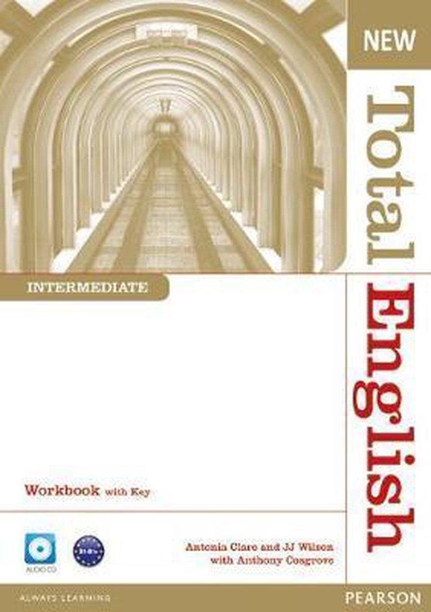 Afbeelding van Total English New - Intermediate workbook with key + cd pack