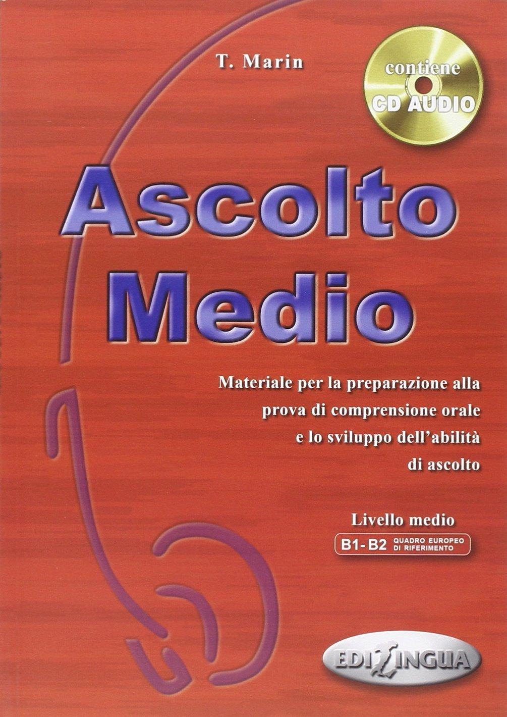 Afbeelding van Ascolto - Medio libro dello studente + cd-audio