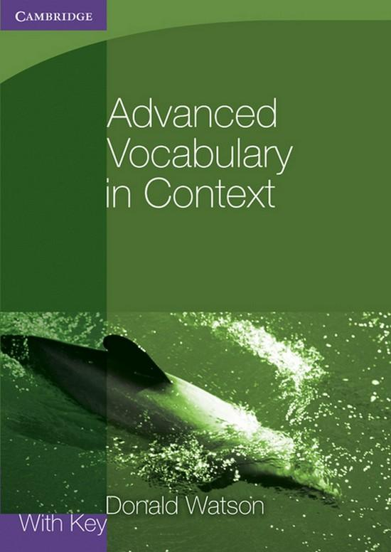 Afbeelding van Advanced Vocabulary in Context book with key