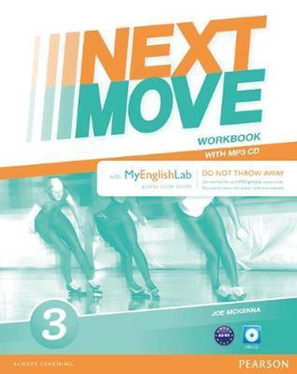 Afbeelding van Next Move - Beneluxpack 3 workbook + myEnglishlab access code