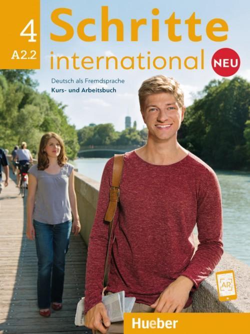 Afbeelding van Schritte international Neu (Sechsbändige Ausgabe) 4 A2.2Kurs-/Arbeitsbuch + CD