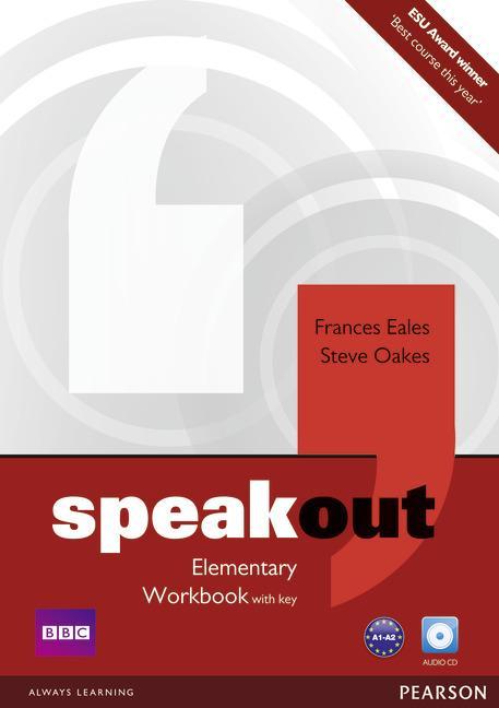 Afbeelding van Speakout - Elementary workbook with key + audio-cd pack