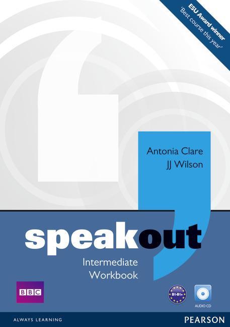 Afbeelding van Speakout - Intermediate workbook without key + audio-cd pack