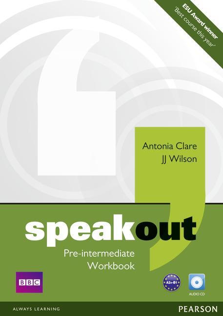 Afbeelding van Speakout - Pre-intermediate workbook without key + audio-cd pack