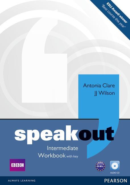 Afbeelding van Speakout - Intermediate workbook with key + audio-cd pack