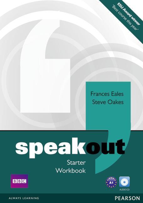 Afbeelding van Speakout - Starter workbook without key + cd-audio pack