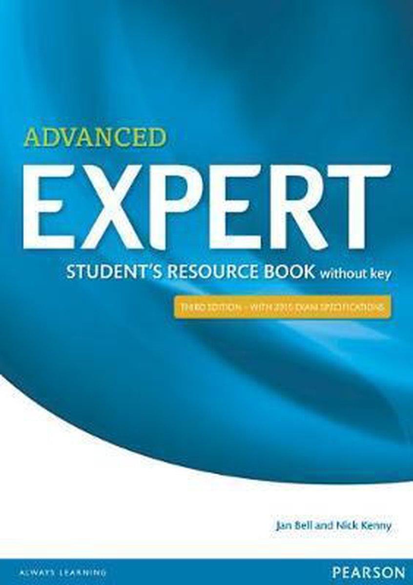 Afbeelding van Expert Advanced Student's resource book without Key