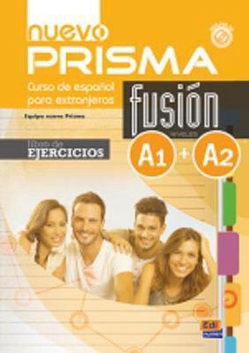 Afbeelding van Nuevo Prisma Fusión A1-A2 libro de ejercicios