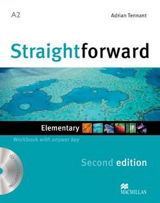 Afbeelding van Straightforward second edition - Elementary workbook with key + audio-cd