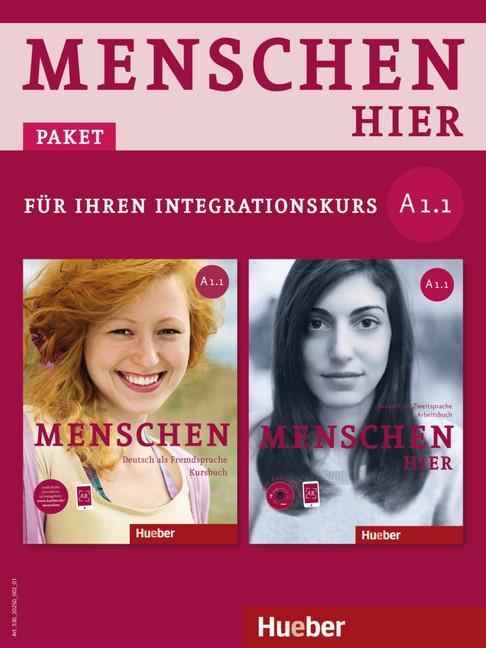 Afbeelding van Menschen hier A1/1 Kursbuch + arbeitsbuch + audio cd