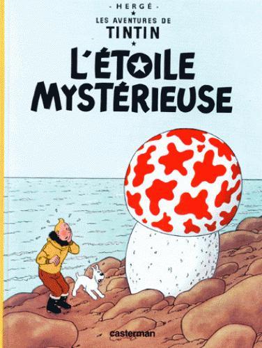 Afbeelding van Tintin et l'etoile mysterieuse