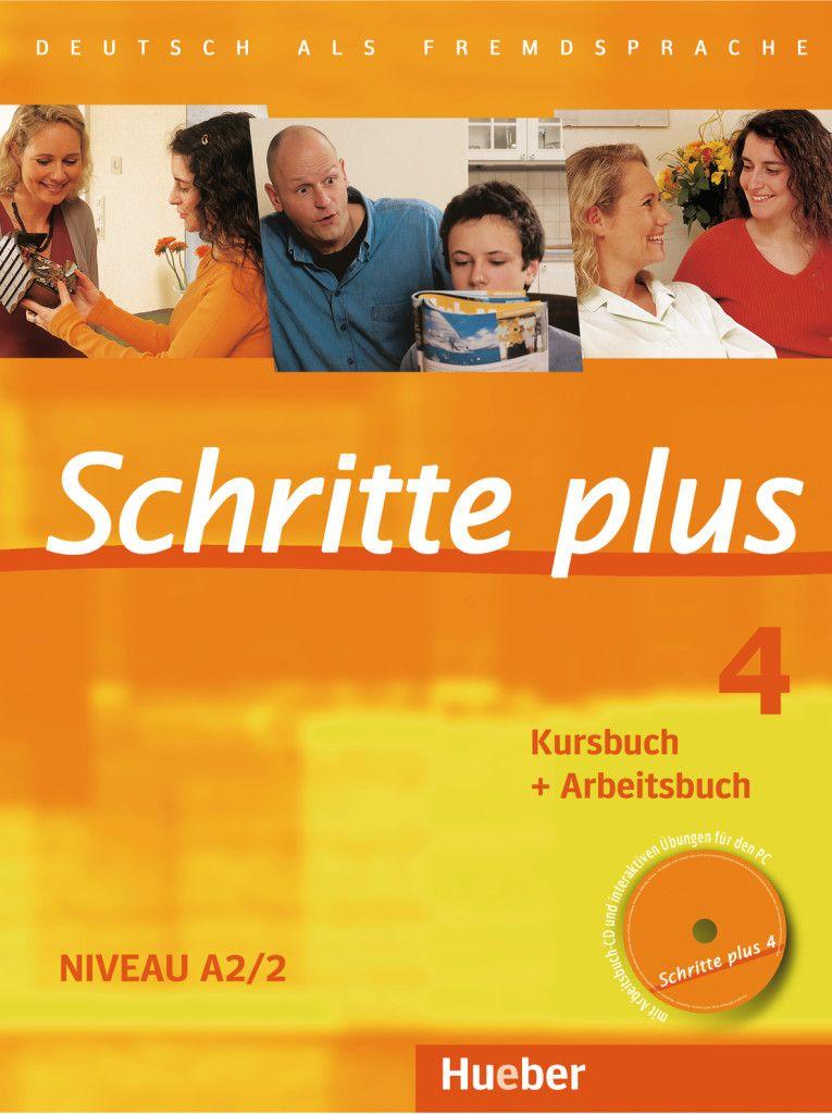Afbeelding van Schritte plus 4 Kurs-/Arbeitsbuch + Audio-CD Arbeitsbuch