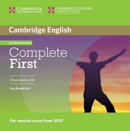 Afbeelding van Complete First - second edition class audio-cd's (2x)