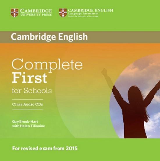 Afbeelding van Complete First for Schools class audio-cd's (2x)