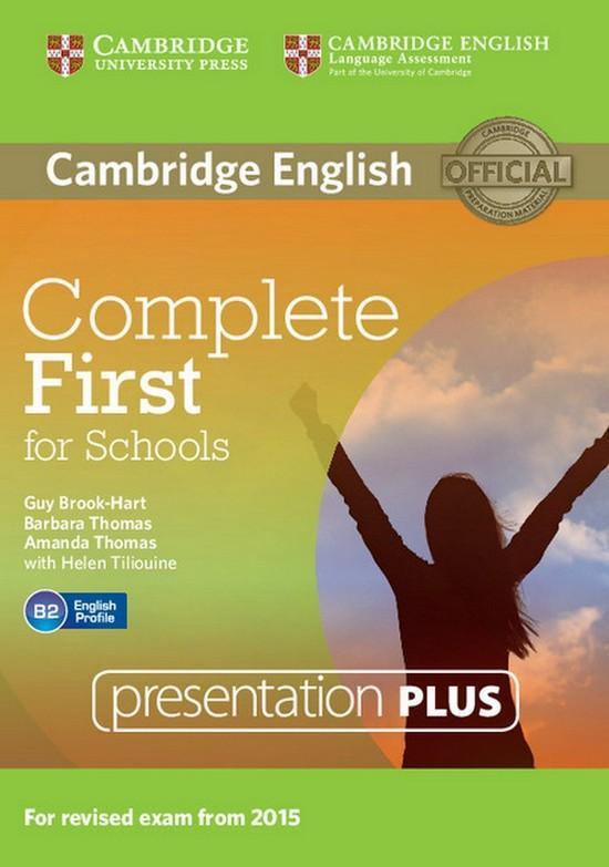 Afbeelding van Complete First for Schools presentation plus dvd-rom