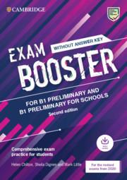 Afbeelding van Exam Booster for B1 Preliminary and B1 Preliminary for Schools without key with audio 2020 exams exam practice for students