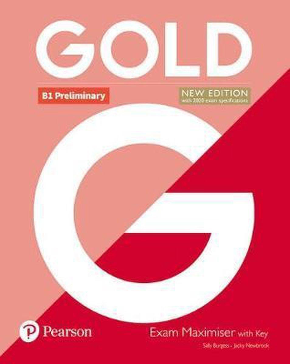 Afbeelding van Gold B1 Preliminary Exam Maximiser with Key