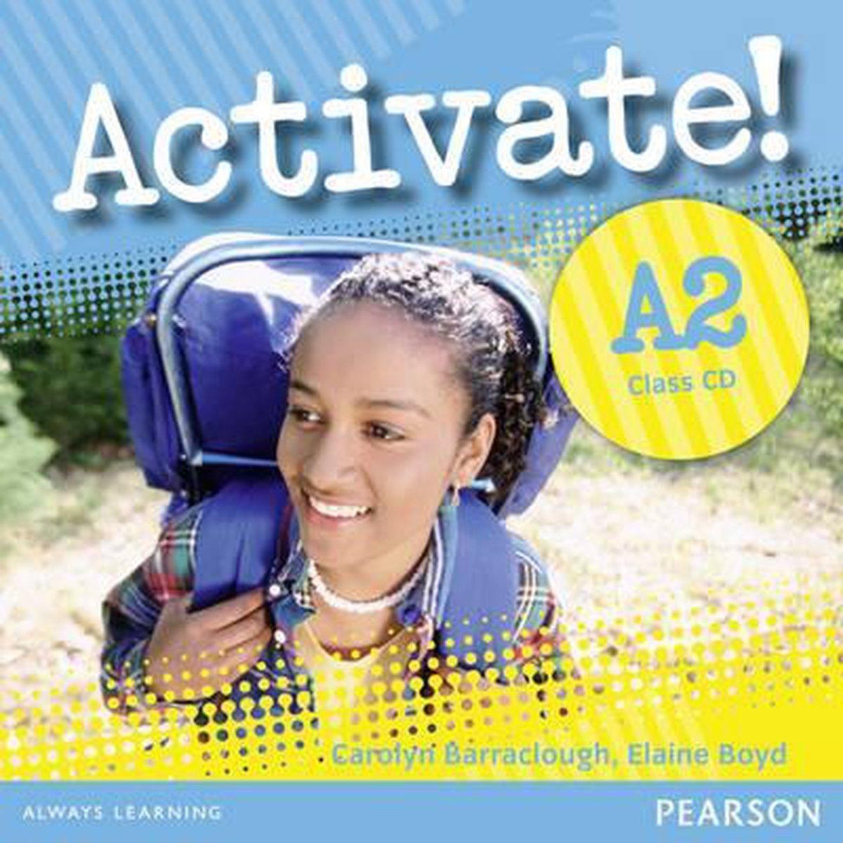 Afbeelding van Activate! A2 class audio-cd