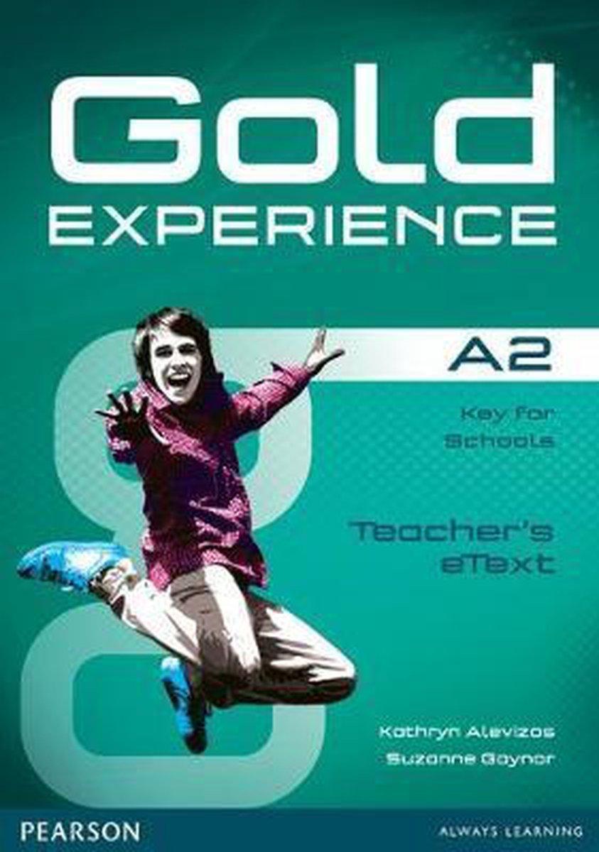 Afbeelding van Gold Experience A2 teacher's etext CD-ROM