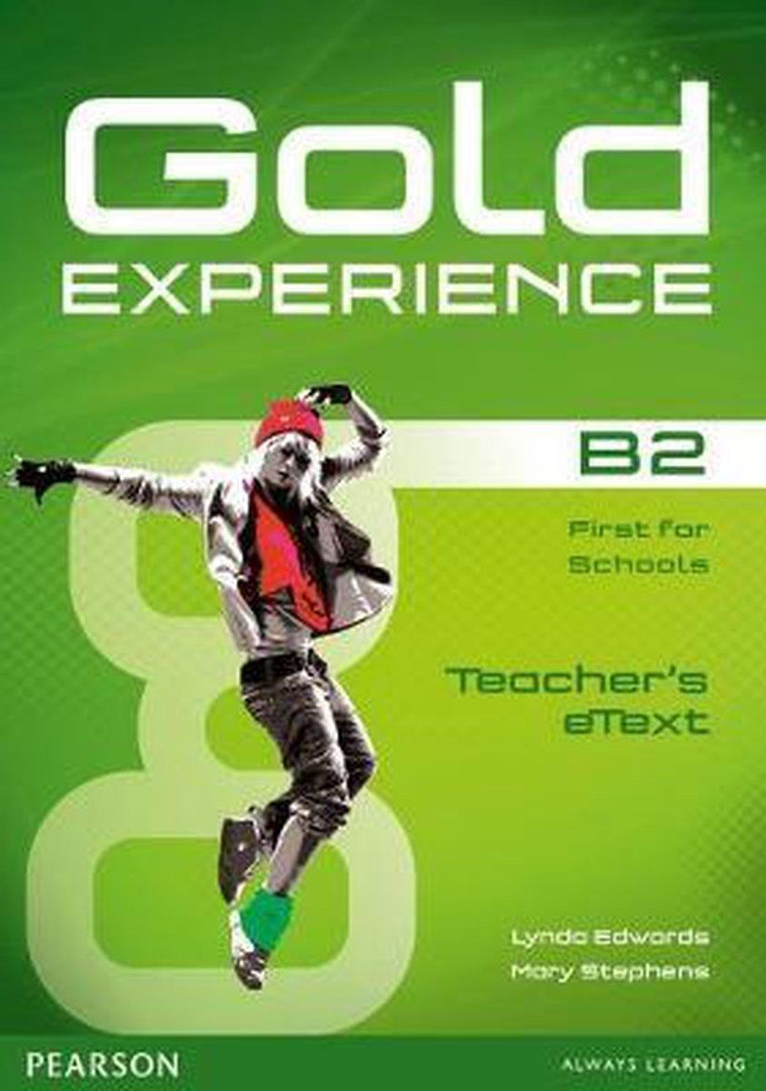 Afbeelding van Gold Experience B2 teacher's etext CD-ROM