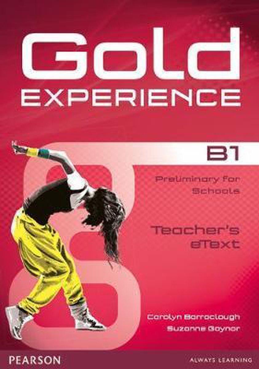 Afbeelding van Gold Experience B1 teacher's etext CD-ROM