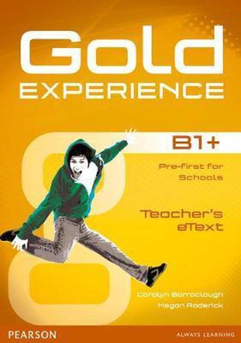 Afbeelding van Gold Experience B1+ teacher's etext CD-ROM