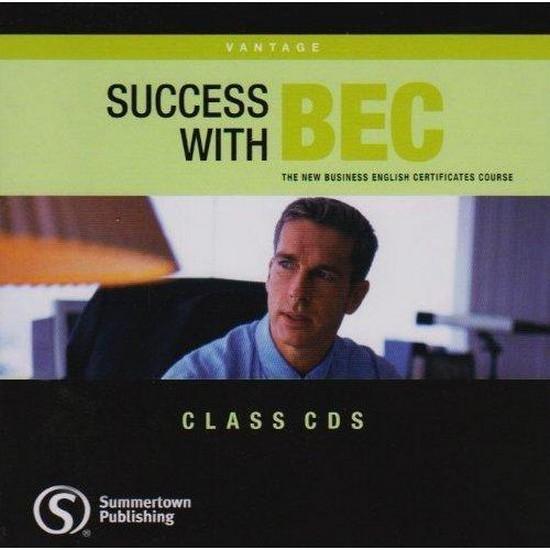 Afbeelding van Success with BEC - Vantage class audio-cd