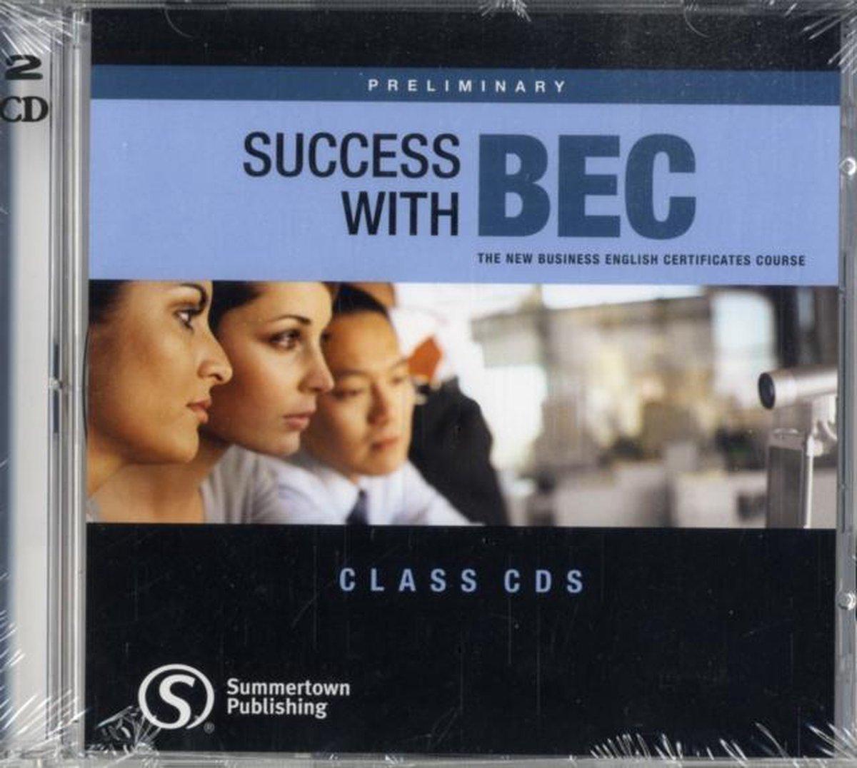 Afbeelding van Success with BEC - Preliminary class audio-cd