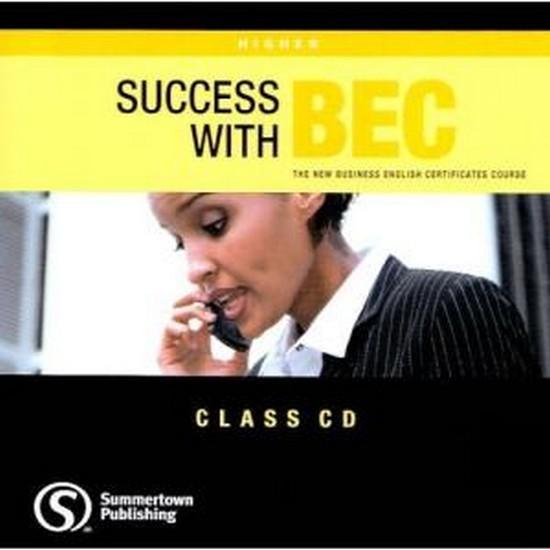 Afbeelding van Success with BEC - Higher class audio-cd