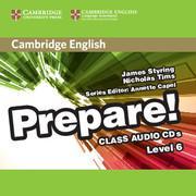 Afbeelding van Cambridge English Prepare! 6 class audio-cd's (2x)