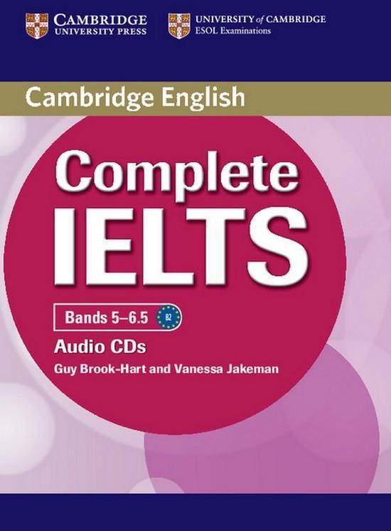 Afbeelding van Complete IELTS Bands 5-6.5 B2 class audio-cd's (2x)