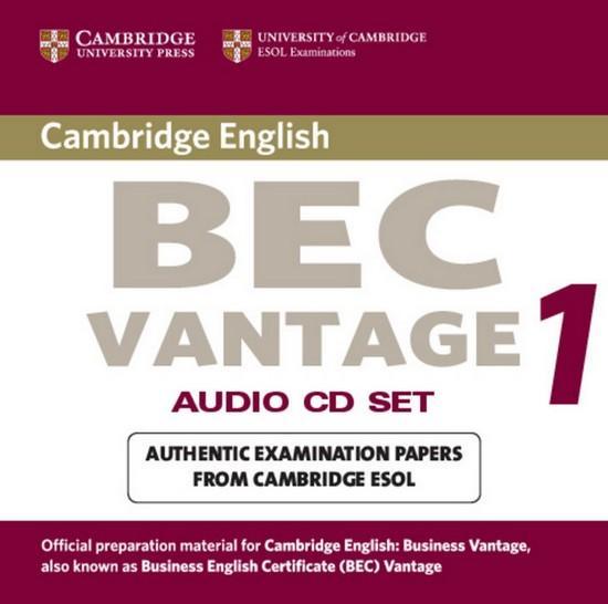 Afbeelding van Cambridge BEC Vantage 1 audio-cd's (2x)