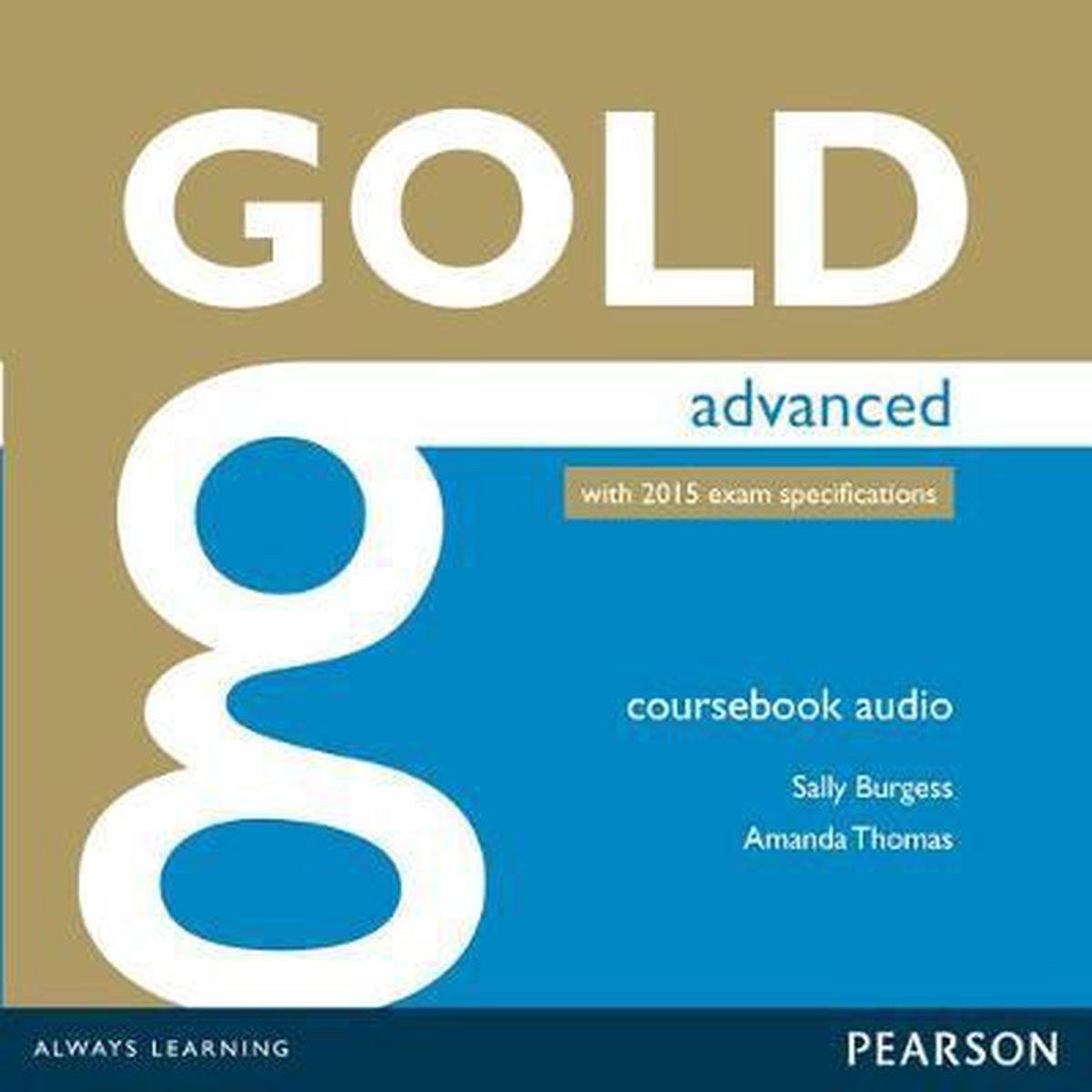 Afbeelding van Gold - Advanced (2015 exam) class audio-cd's (2x)