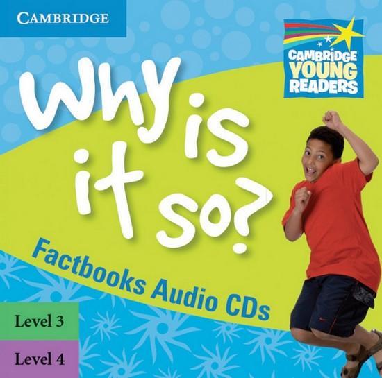 Afbeelding van Cambridge Young Readers: Factbooks 3-4 audio-cd's