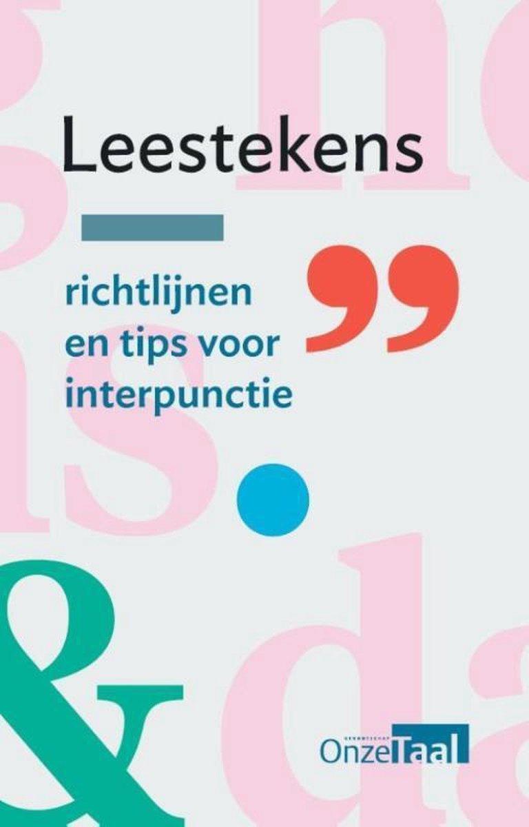 Afbeelding van Leestekens: richtlijnen en tips voor interpunctie