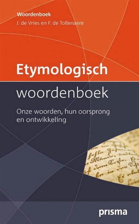 Afbeelding van Etymologisch woordenboek