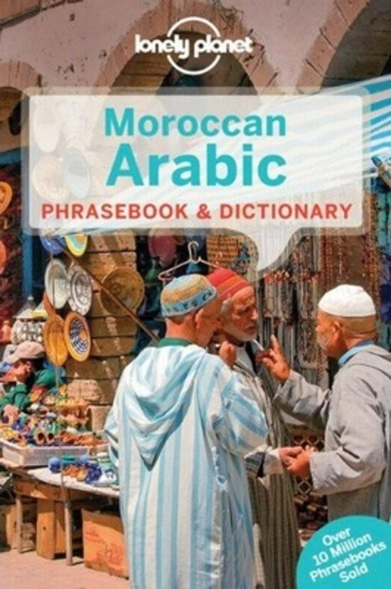 Afbeelding van Lonely Planet Moroccan Arabic Phrasebook and Dictionary